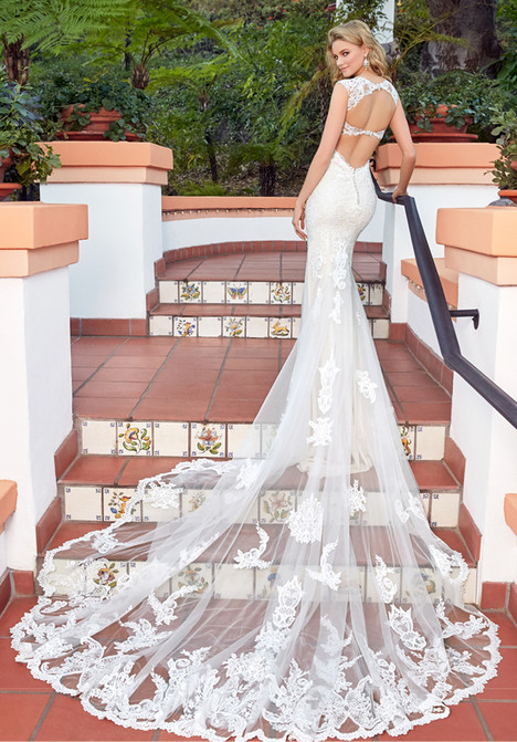 Elena (back) gown from the 2017 Ivoire by Kitty Chen collection, as seen on Bride.Canada