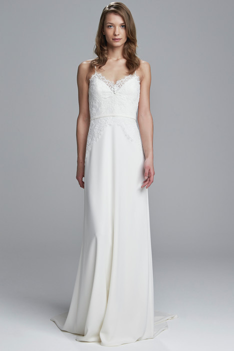 Edie gown from the 2017 Christos collection, as seen on Bride.Canada
