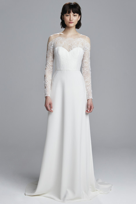Jess gown from the 2017 Christos collection, as seen on Bride.Canada