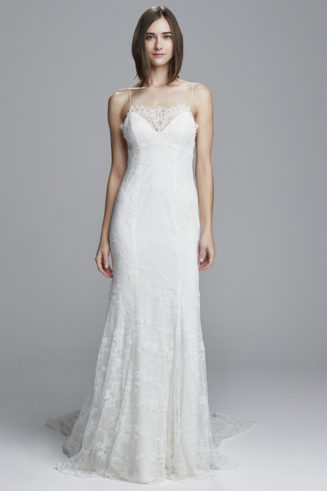 Lulu gown from the 2017 Christos collection, as seen on Bride.Canada