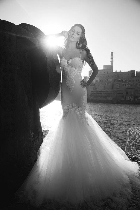 AJ106 gown from the 2017 A&J Collection collection, as seen on Bride.Canada