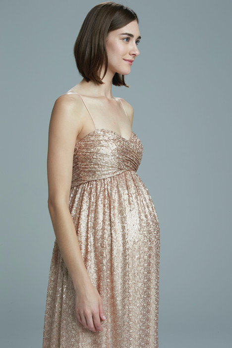 sade rose gold by amsale bridesmaids wedding dresses. Black Bedroom Furniture Sets. Home Design Ideas