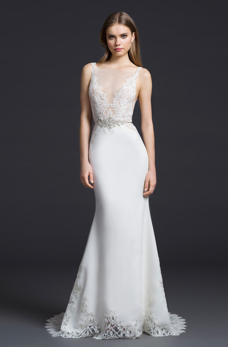 gown from the 2016 Lazaro collection, as seen on Bride.Canada
