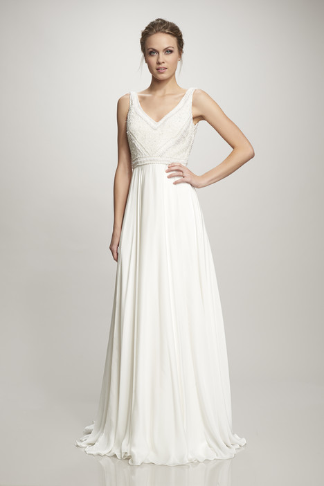 890182 gown from the 2016 Theia White Collection collection, as seen on Bride.Canada