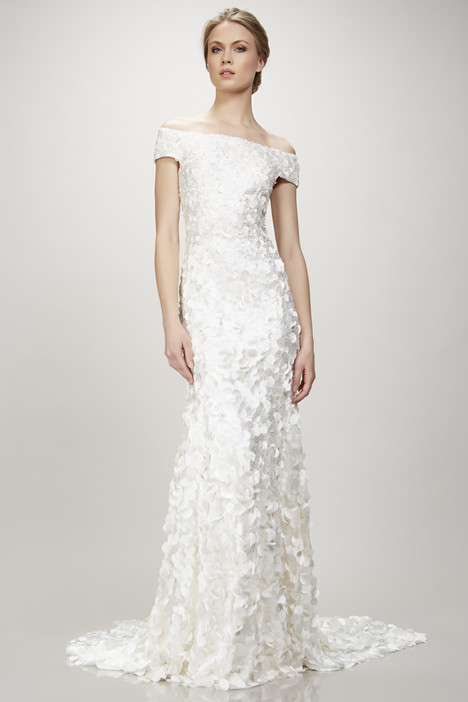 Marina (890348) gown from the 2017 Theia White Collection collection, as seen on Bride.Canada