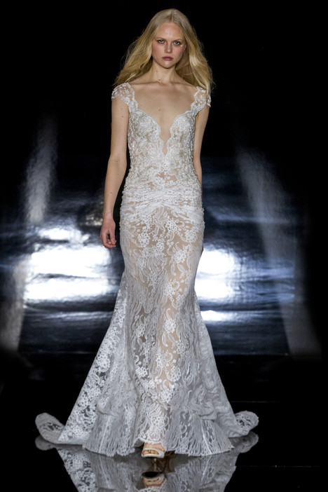 Olympia gown from the 2017 Reem Acra collection, as seen on Bride.Canada