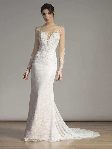 6863 gown from the 2017 Liancarlo collection, as seen on Bride.Canada