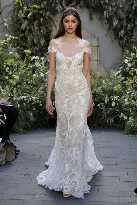 Geneva gown from the 2017 Monique Lhuillier collection, as seen on Bride.Canada