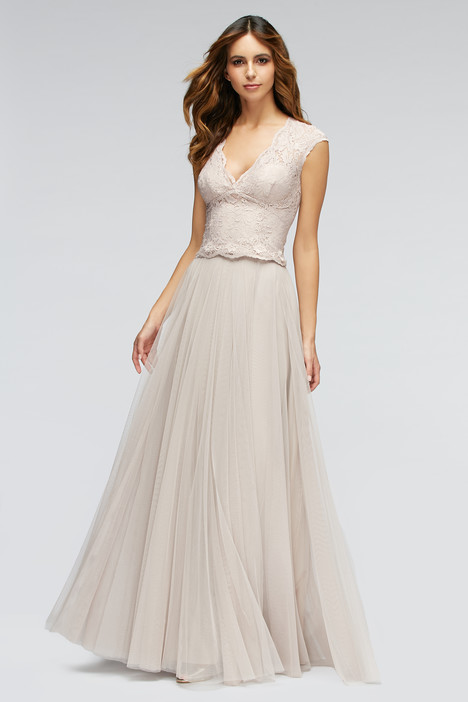 80201 (blush) + 80302 (latte) gown from the 2016 Watters Bridesmaids collection, as seen on Bride.Canada