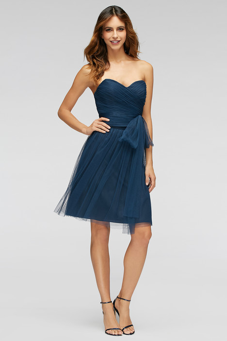 80300 (indigo) gown from the 2016 Watters Bridesmaids collection, as seen on Bride.Canada