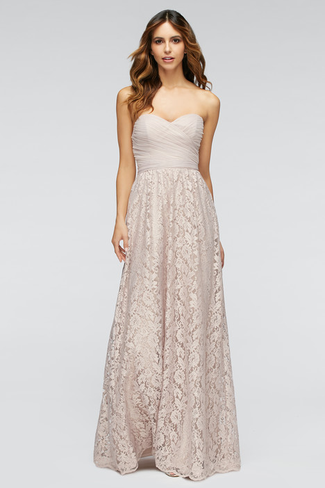80300 (latte) + 80202 (blush) gown from the 2016 Watters Bridesmaids collection, as seen on Bride.Canada
