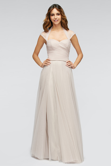 80300 (latte) + 80301 (latte) gown from the 2016 Watters Bridesmaids collection, as seen on Bride.Canada