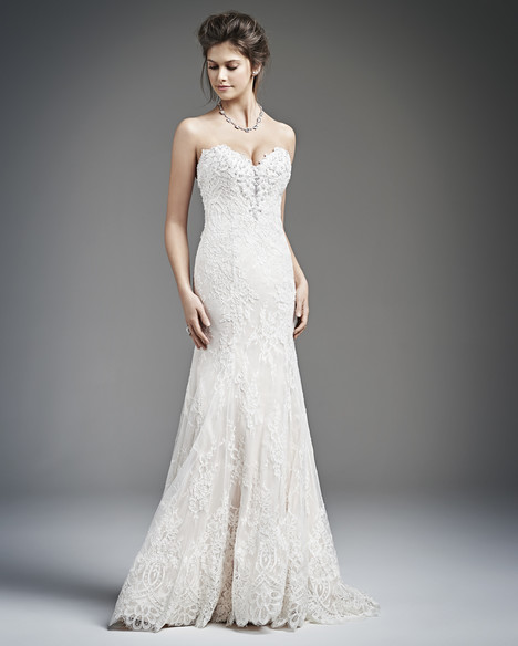 1628 gown from the 2016 Kenneth Winston collection, as seen on Bride.Canada