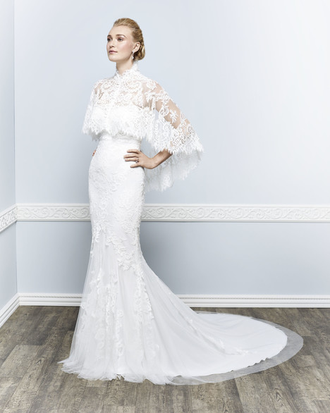 1644 (2) gown from the 2016 Kenneth Winston collection, as seen on Bride.Canada