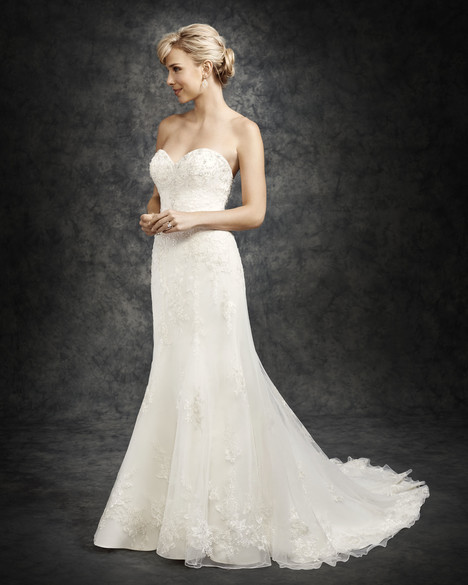 BE300 gown from the 2016 Ella Rosa collection, as seen on Bride.Canada
