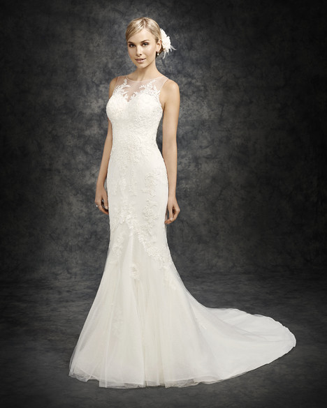 BE307 gown from the 2016 Ella Rosa collection, as seen on Bride.Canada