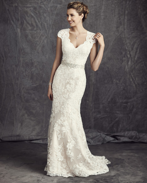 BE277 gown from the 2016 Ella Rosa collection, as seen on Bride.Canada