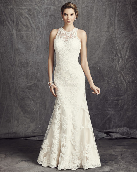 BE283 gown from the 2016 Ella Rosa collection, as seen on Bride.Canada