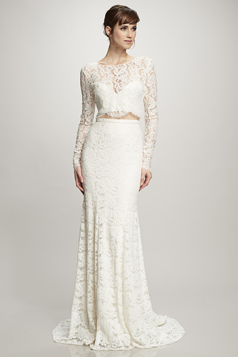 Ines (890244) gown from the 2016 Theia White Collection collection, as seen on Bride.Canada
