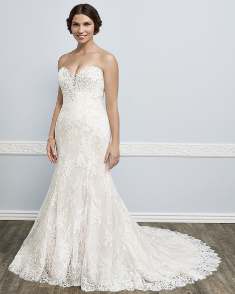 1628W gown from the 2016 Femme by Kenneth Winston collection, as seen on Bride.Canada