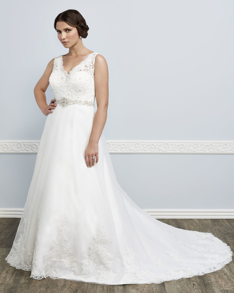 3387 gown from the 2016 Femme by Kenneth Winston collection, as seen on Bride.Canada