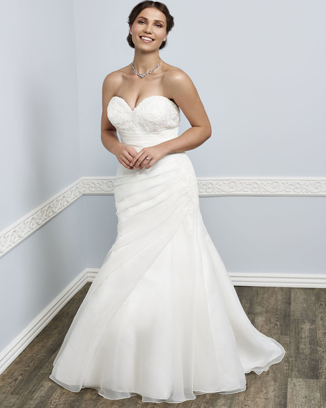 3388 gown from the 2016 Femme by Kenneth Winston collection, as seen on Bride.Canada