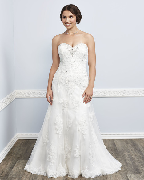 3390 gown from the 2016 Femme by Kenneth Winston collection, as seen on Bride.Canada