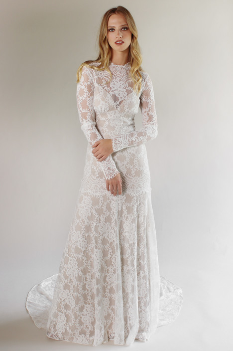 Beverly gown from the 2017 Claire Pettibone: Couture collection, as seen on Bride.Canada
