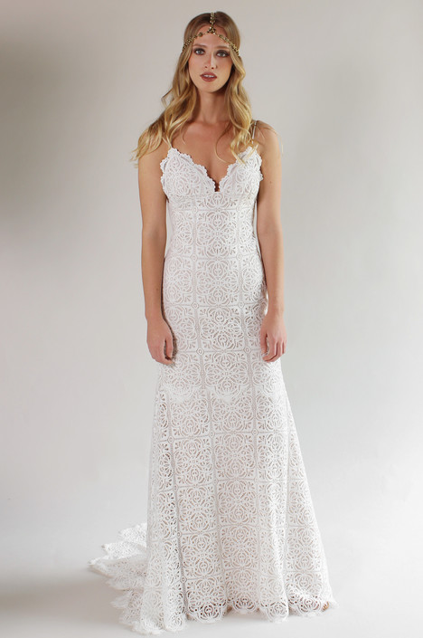 Malibu gown from the 2017 Claire Pettibone: Couture collection, as seen on Bride.Canada
