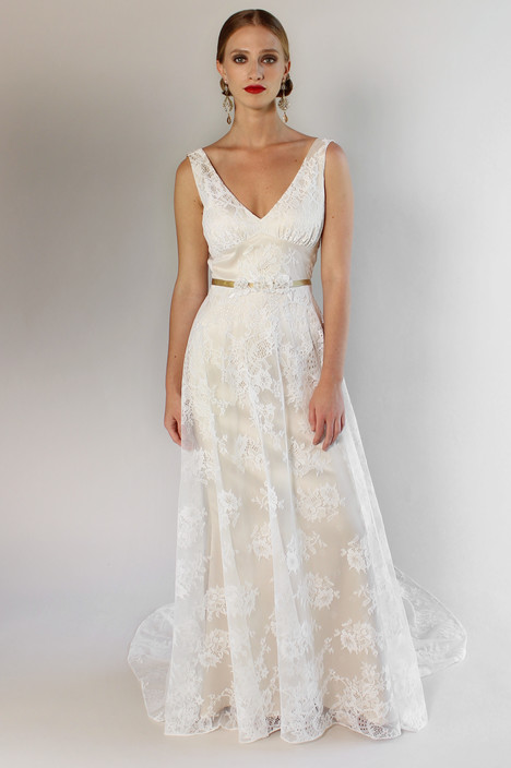 Palisades gown from the 2017 Claire Pettibone: Couture collection, as seen on Bride.Canada
