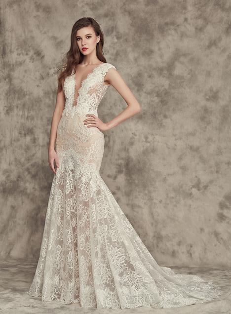 16241 gown from the 2016 Calla Blanche collection, as seen on Bride.Canada