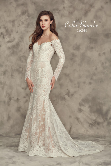 16246 (2) gown from the 2016 Calla Blanche collection, as seen on Bride.Canada