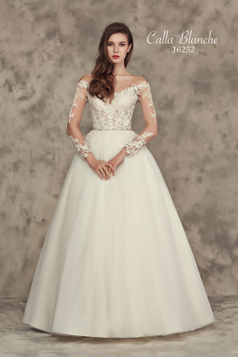 16252 by calla blanche wedding dresses for Wedding dresses near me cheap