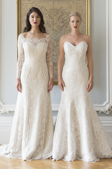 Terri & Marsha gown from the 2017 Augusta Jones collection, as seen on Bride.Canada