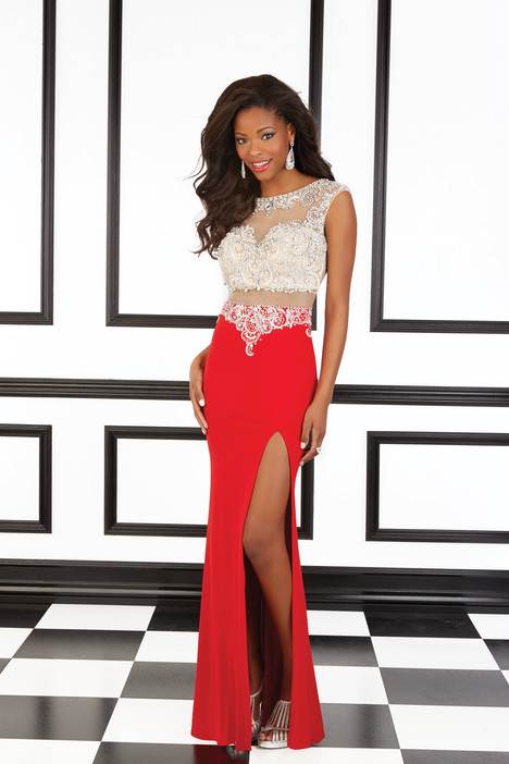 98602 (red) gown from the 2016 Mori Lee Prom collection, as seen on Bride.Canada