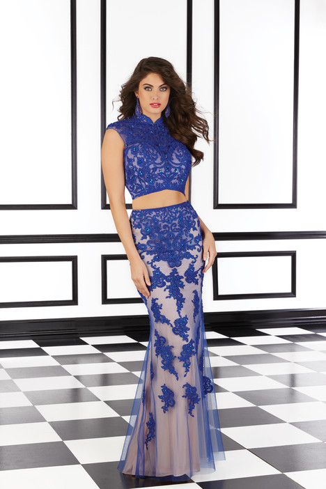 98611 (blue) gown from the 2016 Mori Lee Prom collection, as seen on Bride.Canada