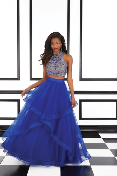 98624 (blue) gown from the 2016 Mori Lee Prom collection, as seen on Bride.Canada