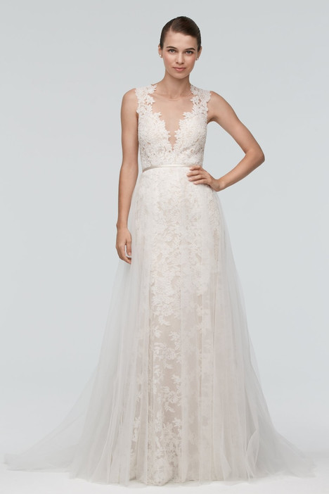 Carlton (over skirt) gown from the 2015 Watters Brides collection, as seen on Bride.Canada