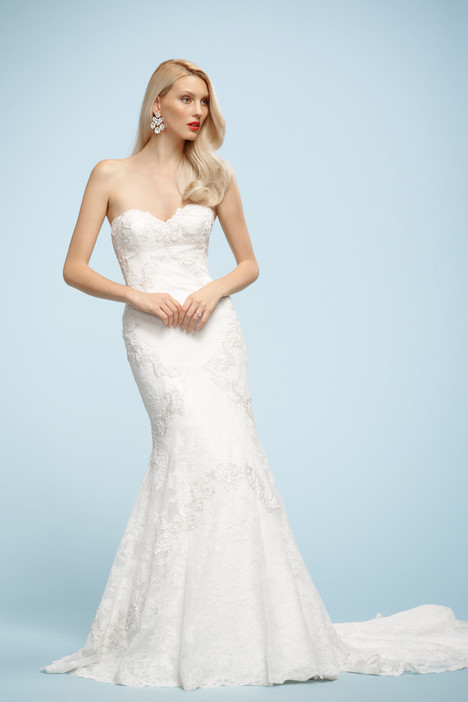 Fabienne (3040B) gown from the 2013 Watters Brides collection, as seen on Bride.Canada