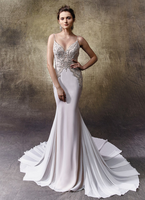 Laurie gown from the 2017 Enzoani collection, as seen on Bride.Canada