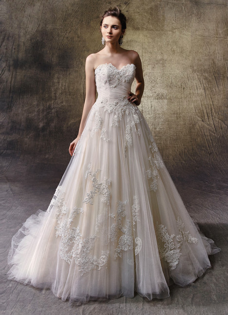 Levina gown from the 2017 Enzoani collection, as seen on Bride.Canada