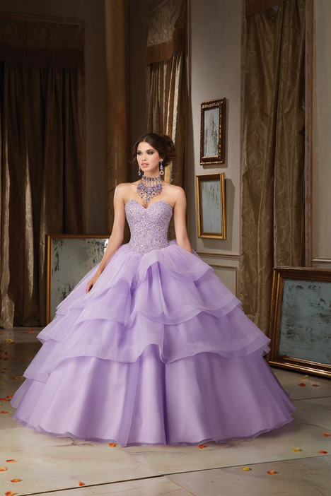 89111 (light purple) gown from the 2016 Morilee Vizcaya collection, as seen on Bride.Canada