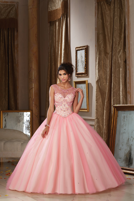 89112 (cotton candy & champagne) gown from the 2016 Morilee Vizcaya collection, as seen on Bride.Canada