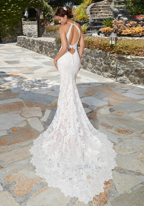 Danielle (back) gown from the 2017 KittyChen collection, as seen on Bride.Canada