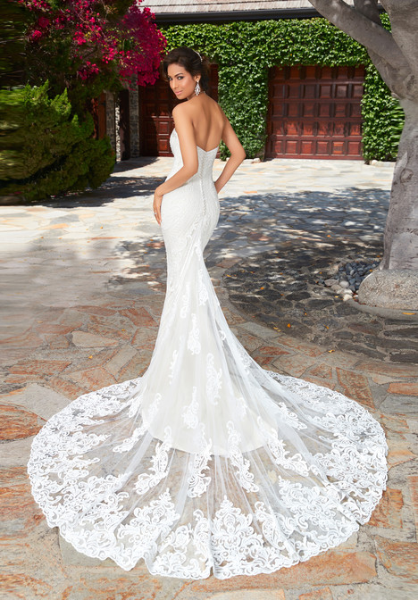 Lola (back) gown from the 2017 KittyChen collection, as seen on Bride.Canada