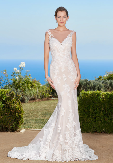 Mallory gown from the 2017 KittyChen collection, as seen on Bride.Canada