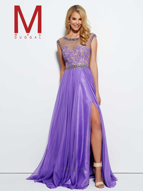 10074M (lilac) gown from the 2016 Mac Duggal Prom collection, as seen on Bride.Canada