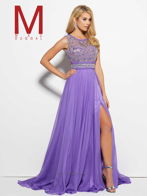 10095M (lilac) gown from the 2016 Mac Duggal Prom collection, as seen on Bride.Canada