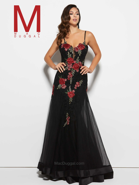 20022M (black) gown from the 2016 Mac Duggal Prom collection, as seen on Bride.Canada