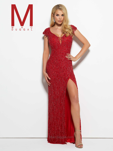 4331M (red) gown from the 2016 Mac Duggal Prom collection, as seen on Bride.Canada